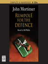 Rumpole for the Defence (MP3)